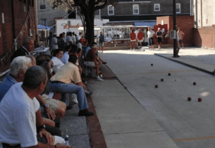 Baltimora, Little Italy e il torneo di bocce