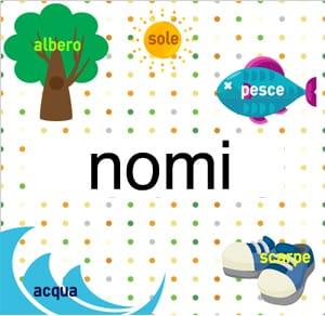 Le terminazioni dei nomi in italiano