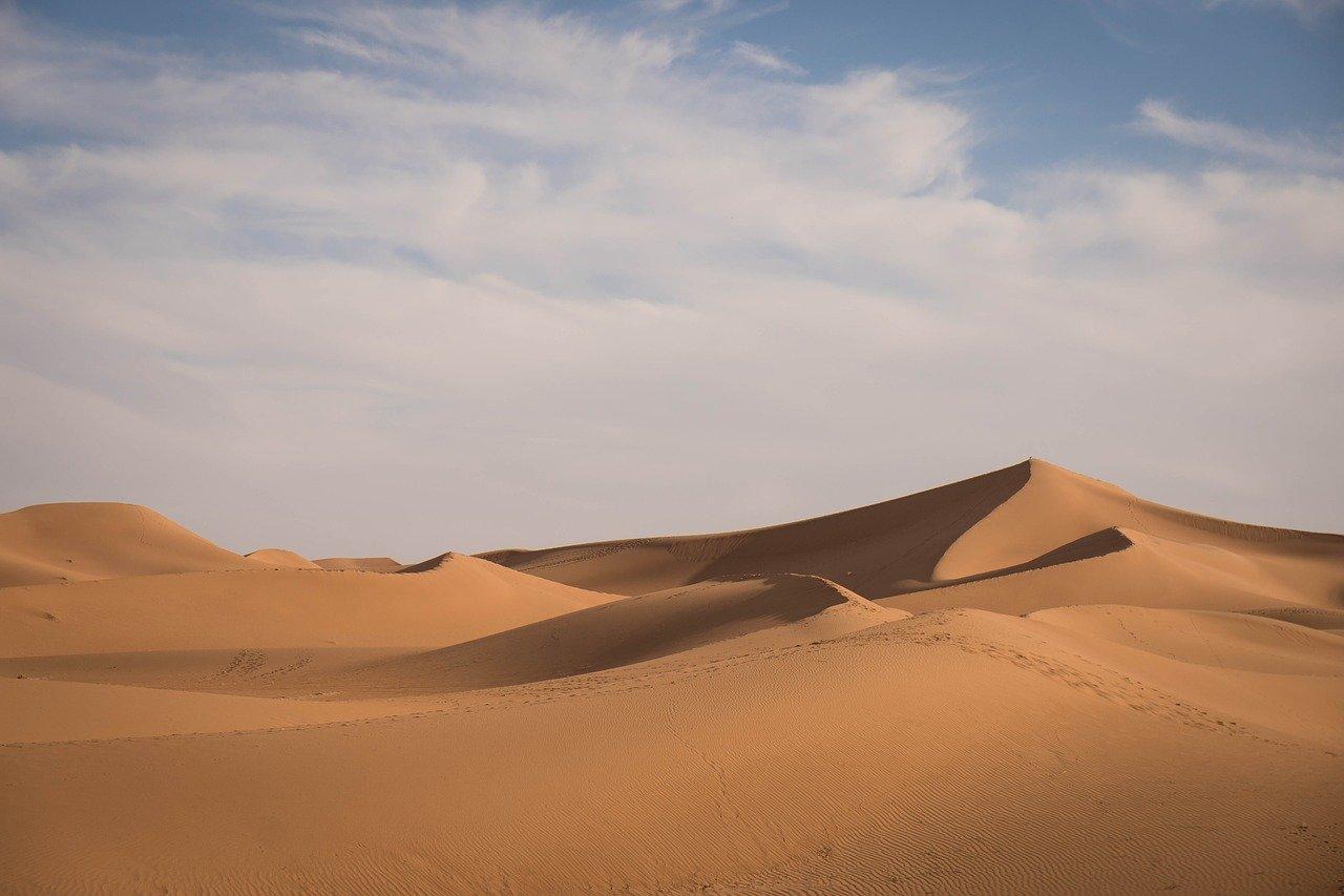 VIDEO În anul 2018 a nins in Sahara