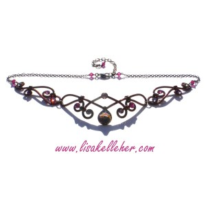Fairy Queen Circlet Medieval Elven Style