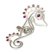 seahorse-hair-clip-silver-ombre-pink-right