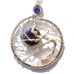 Tree of Life Dark Side of the Moon Silver