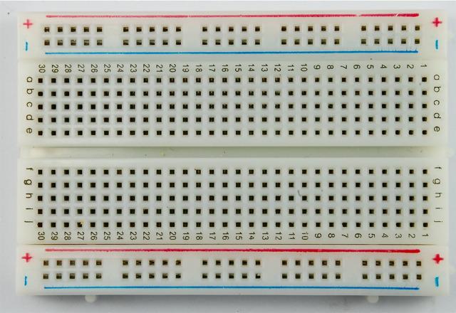 Breadboard Diagram Program Used In Arduino Tutes