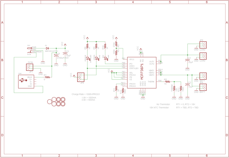 micro usb charger schematic
