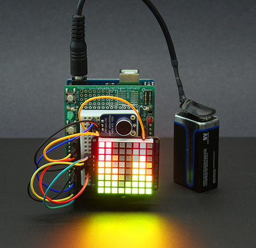 Rgb Led Strip Controlled By Filtered Audio Signals Using An Arduino