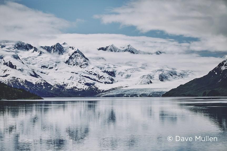 Harriman glacier by Dave Mullen