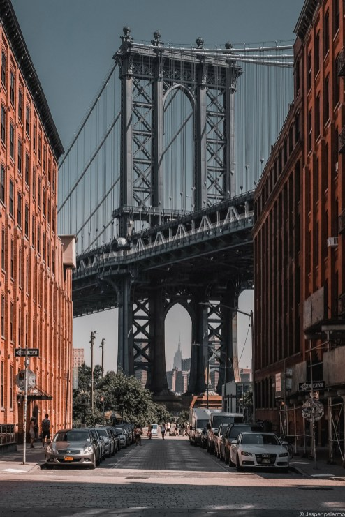 capture one RAW photo editor get creative with color blogpost jesper palermo NYC street view with bridge