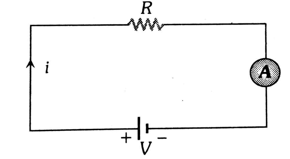 medium resolution of as ammeter is in series with 40 8