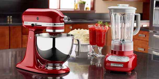 red kitchen appliances solid surface sinks 12 to help brighten up your