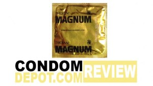 Condom Review: Trojan Magnum Ribbed