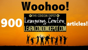 The Condom Depot Learning Center Publishes 900th Article