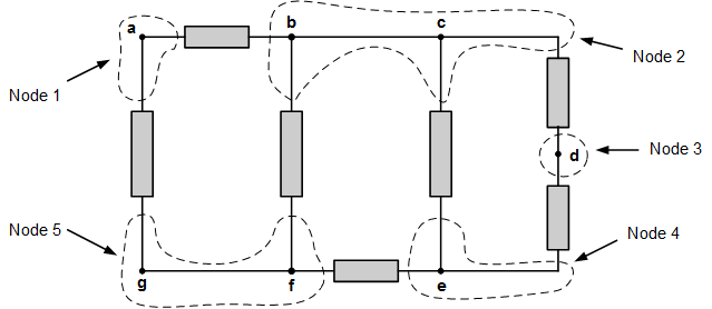 figure 2 buildup circuit on breadboard