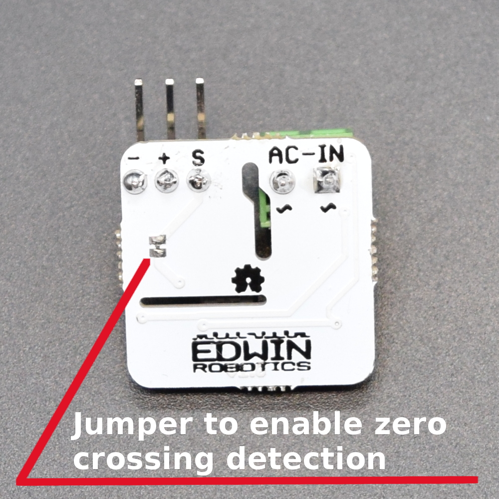 hight resolution of ac mains zero crossing detection
