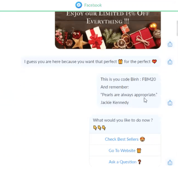 FB chatbot example