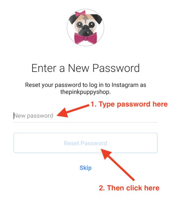 new-instagram-password