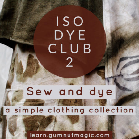 Eco-printing and natural dyeing ecourse