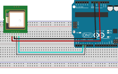 How to connect GPS Module to Arduino