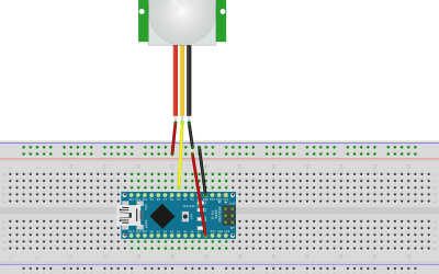 Using HC SR501 PIR motion sensor with arduino