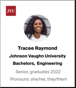 Pronouns on a student profile