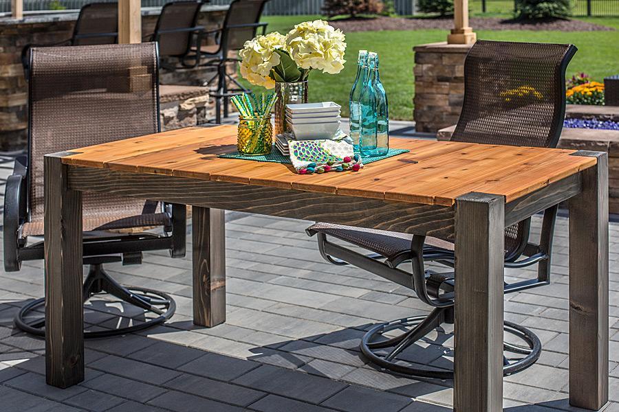 https learn kregtool com plans cedar patio table