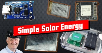 Cheap and simple Solar Power for our small Projects (ESP32, ESP8266, Arduino)