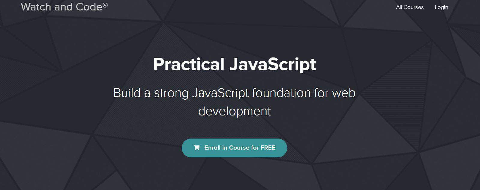 Learn JavaScript from Watch and Code