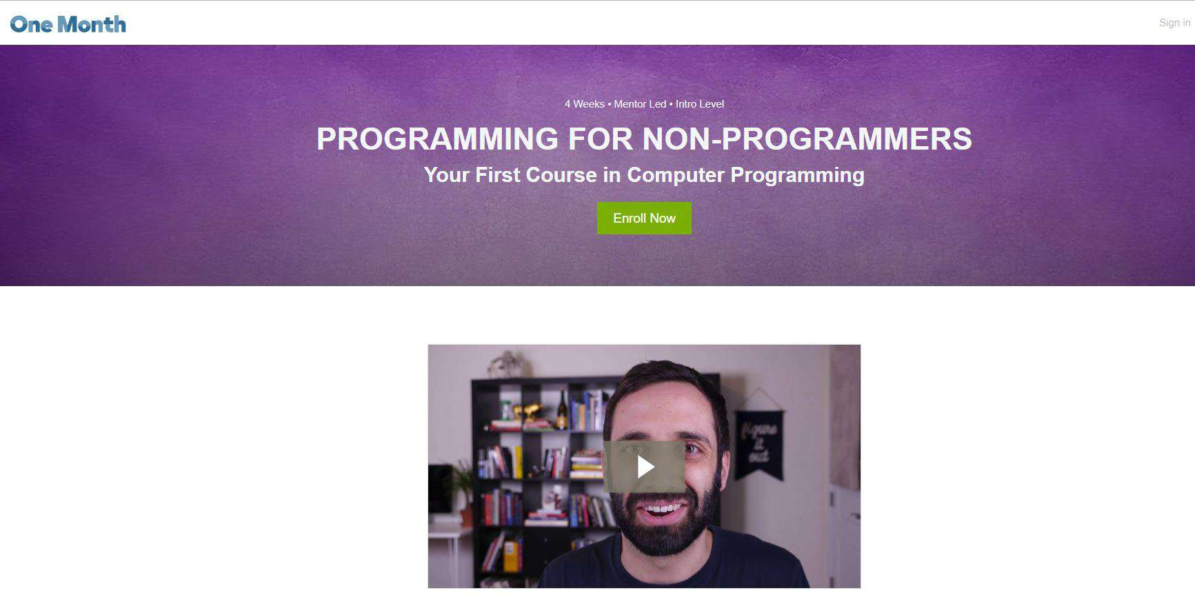 Learn Computer Programming with One Month
