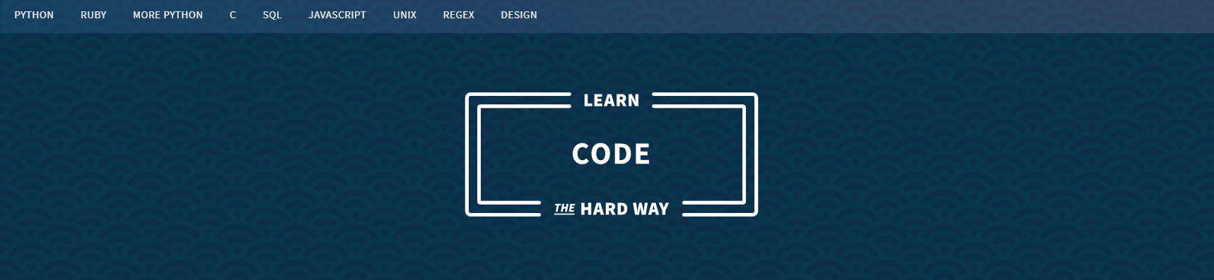 Learn to Code with Learn Code the Hard Way
