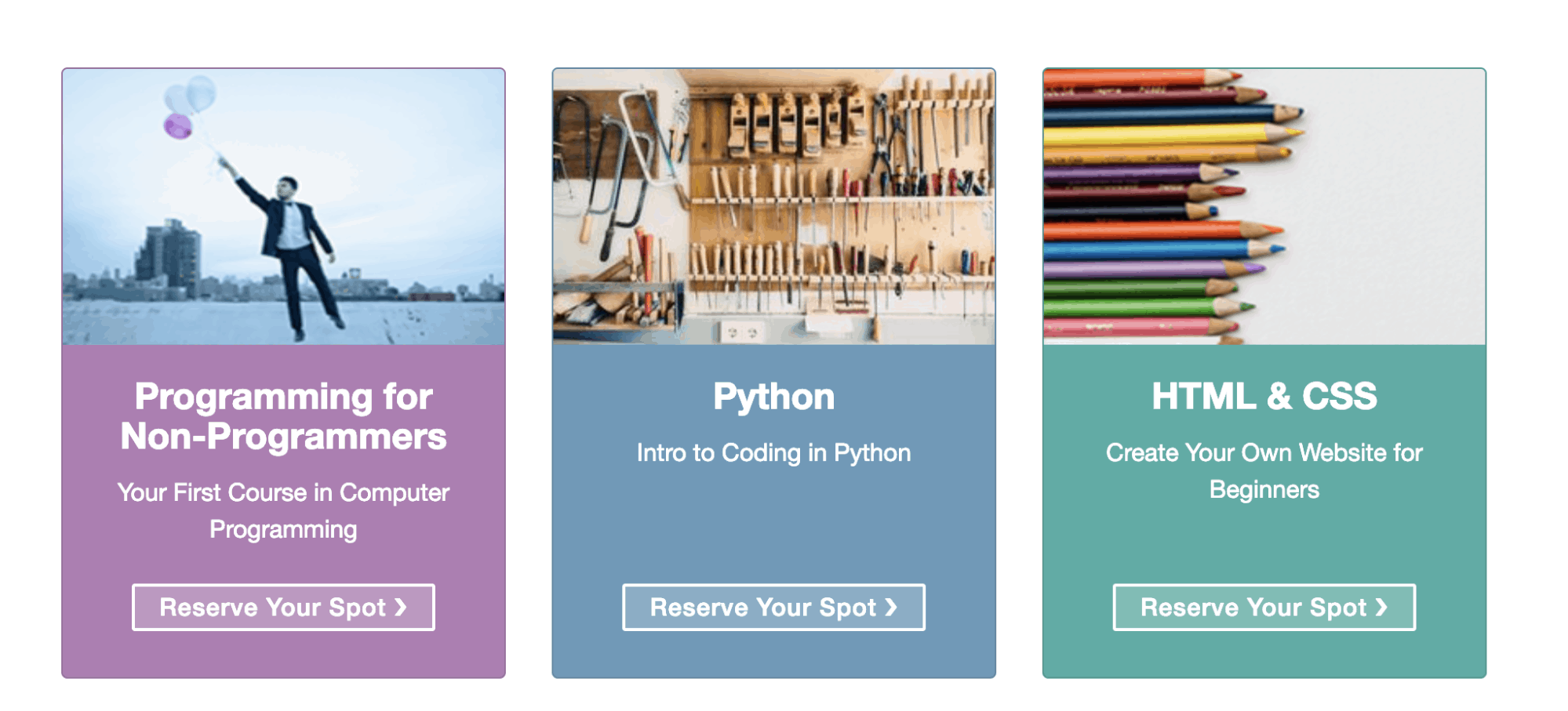 One Month Online Coding Courses