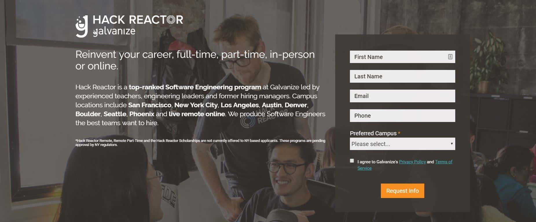 Hack Reactor Coding School