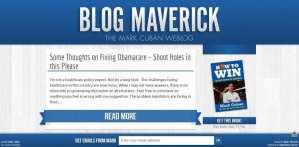 Maverick uses WordPress