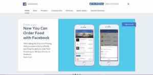 Facebook Newsroom uses WordPress