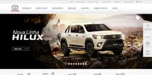 Toyota uses WordPress