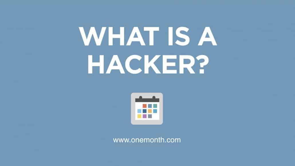 What is a hacker?