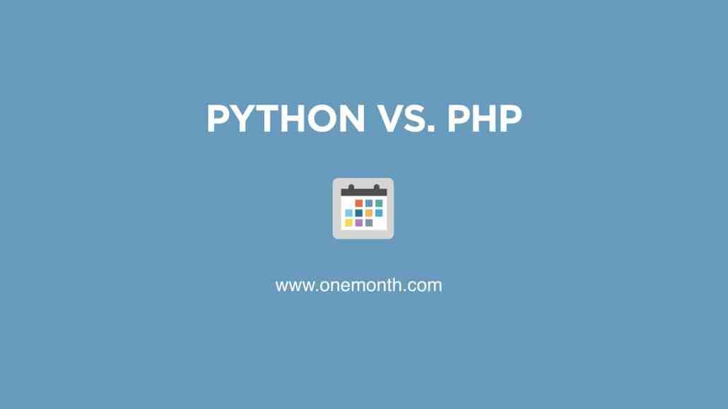 Python vs. PHP
