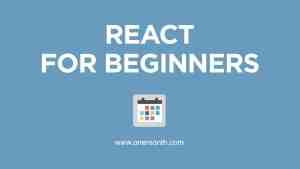 Learn React