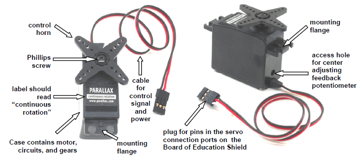 Skf Wiring Diagram Activity 4 Connect Servo Motors And Batteries Learn