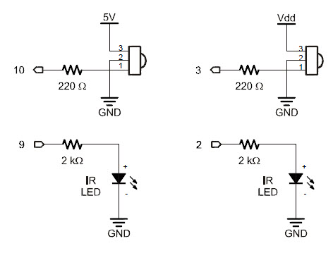 ir led circuit Gallery