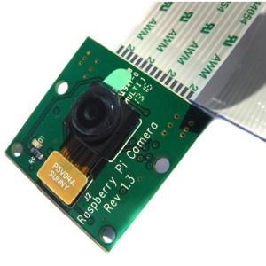 Raspberry Pi Camera Board Closeup