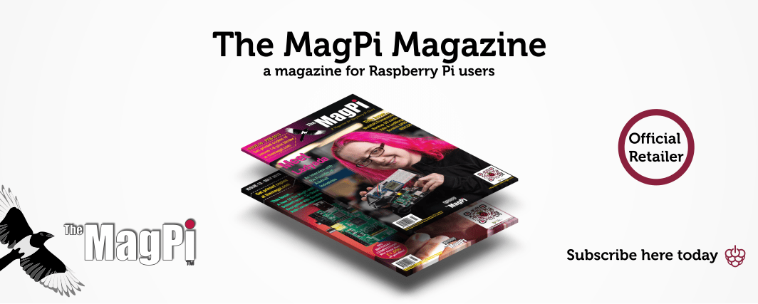The MagPi Magazine Slide