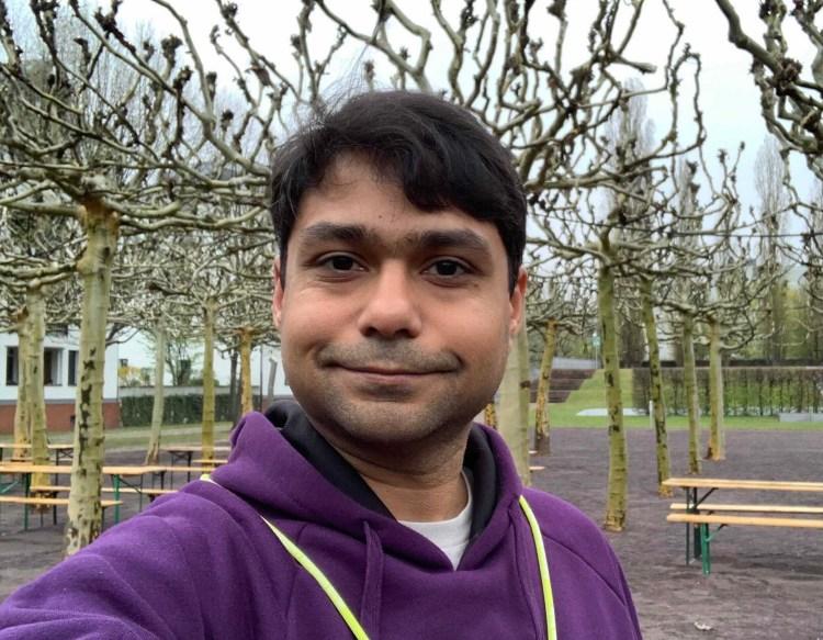 Jyotindra Vasudeo in Golden Gate Park