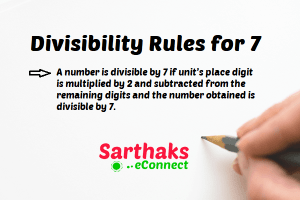 Divisibility Rules for 7