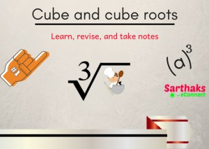 Cube and cube root