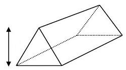 mensuration of right prism area volume