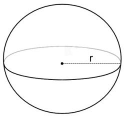 sphere formula for mensuration clasas 6