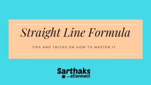 straight line formula
