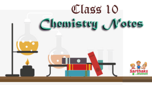 class 10 chemistry notes