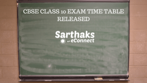 CBSE Class 10 Exam Time Table Released