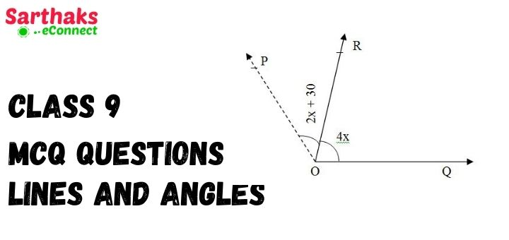 MCQ Question of Lines and Angles