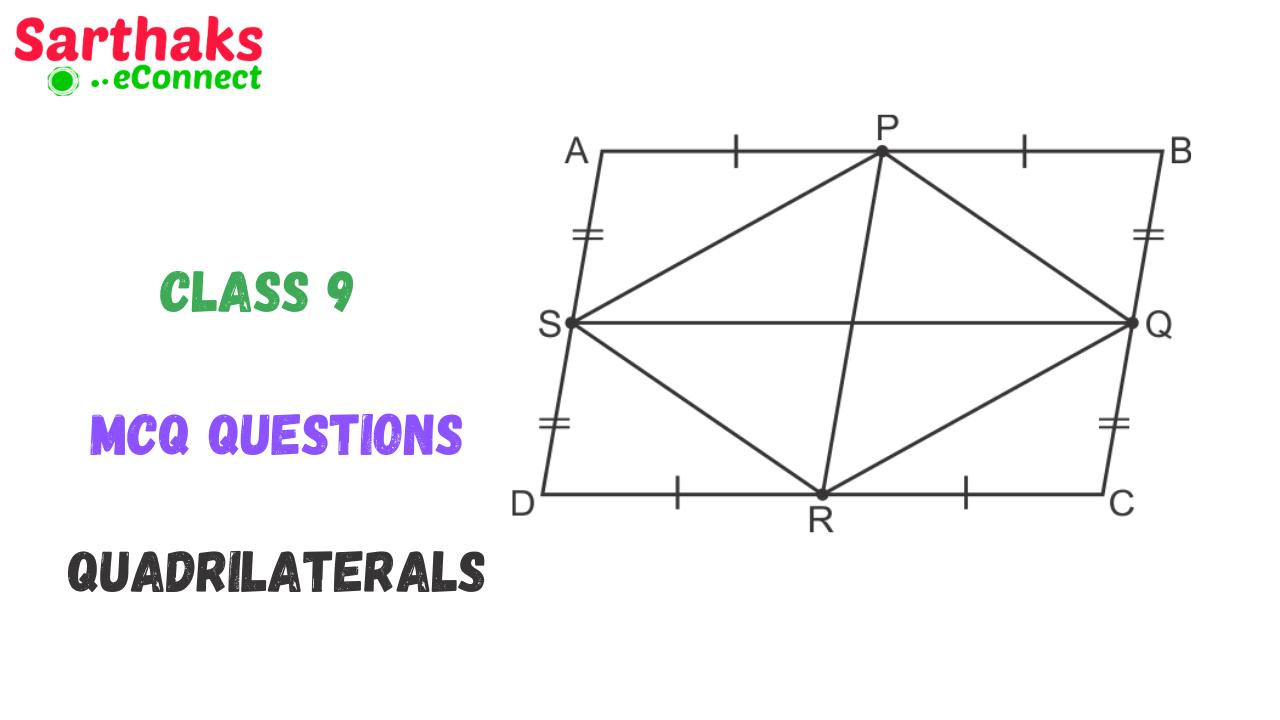 MCQ Question of Quadrilaterals